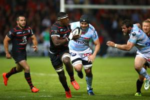 Yannick Nyanga  - 09.05.2014 - Toulouse / Racing Metro - Barrages Top 14 2013/2014